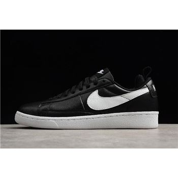 NikeLab Blazer Low CS TC Black/Black-White AA1057-001 Free Shipping