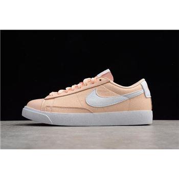 WMNS Nike Blazer Low Le Crimson Tint/White AA3961-800