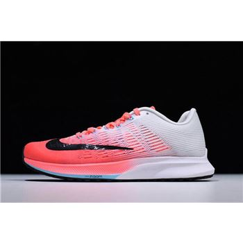 Womens Nike Air Zoom Elite 9 Hot Punch Black White Lava Glow