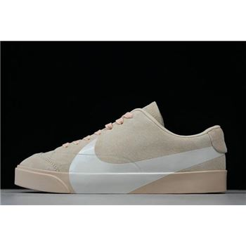 Womens Nike Blazer City Low LX Pink White