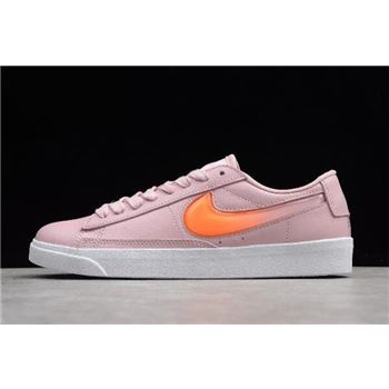 Womens Nike Blazer Low LE Pale Ivory Ice Pomegranate Red Peak White