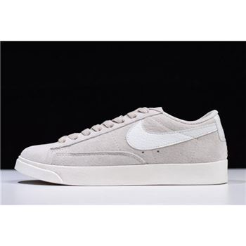 Womens Nike Blazer Low SD Beige White Sail