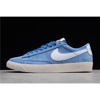Women's Nike Blazer Low SD Leche Blue/Sail AA3962-404