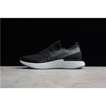 Buy Nike Epic React Flyknit Black Dark Grey Pure Platinum
