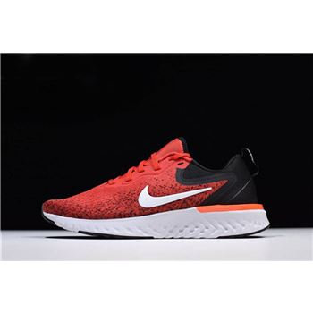 Mens Nike Odyssey React Habanero Red Black White Running Shoes