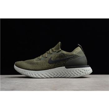 Mens and Womens Nike Epic React Flyknit Olive