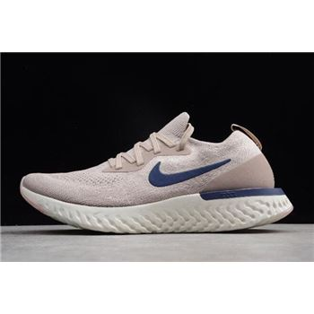 Nike Epic React Diffused Taupe/Blue Void Running Shoes AQ0067-201