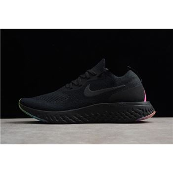 Nike Epic React Flyknit Be True Black Multi Color