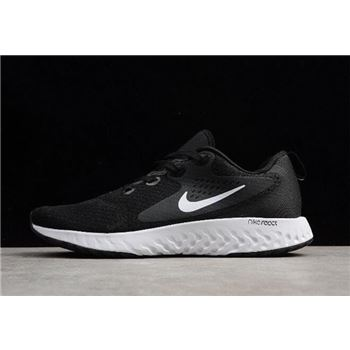 Nike Epic React Flyknit Black White Mens and Womens Size