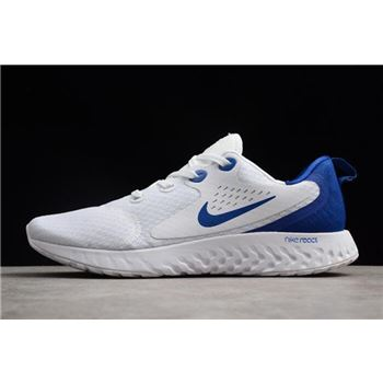 Nike Epic React Flyknit White/Loyal Blue AA1625-104 Cheap Sale