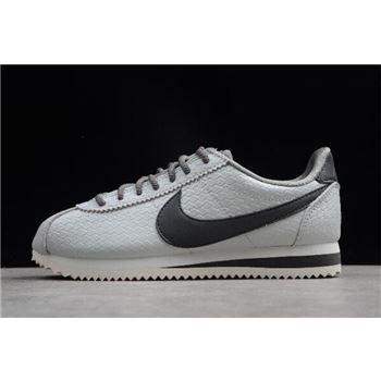 Women's Nike Classic Cortez SE Metallic Pewter 902856-006
