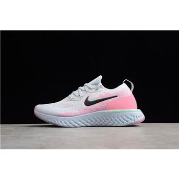 Womens Nike Epic React Pink Beam Pure Platinum Hydrogen Blue Pink Beam Black
