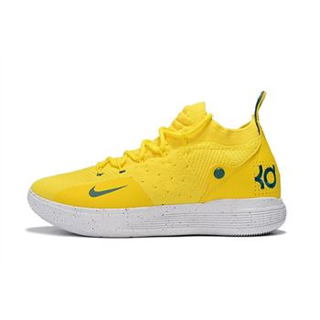 2018 Breanna Stewart Nike KD 11 Storm Yellow PE
