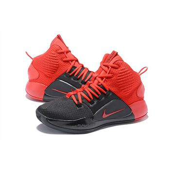 salir Montañas climáticas comienzo  2018 Nike Hyperdunk X Black/University Red For Sale Free Shipping, New Nike  Shoes 2019, Nike Official Website