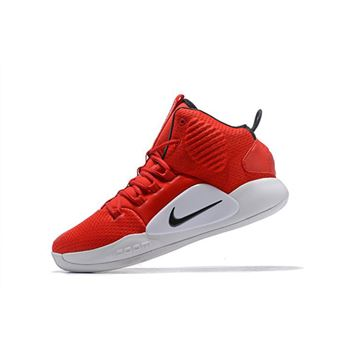 2018 Nike Hyperdunk X University Red Black White