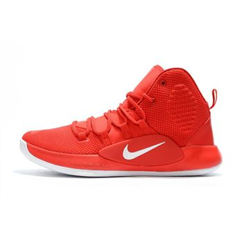 2018 Nike Hyperdunk X University Red White Mens Basketball Shoes