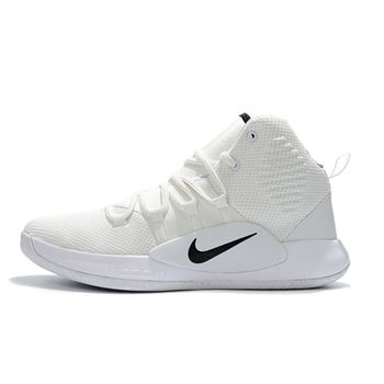 2018 Nike Hyperdunk X White Black Men's Basketball Shoes