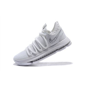 Mens Nike KD 10 Platinum Tint Vast Grey White