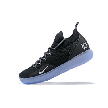 Mens Nike KD 11 Black White Basketball Shoes