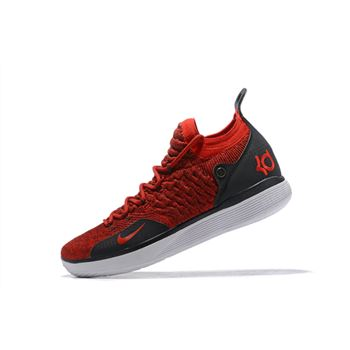 Mens Nike KD 11 Red Black White For Sale
