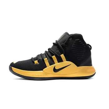 New Nike Hyperdunk X Black Gold Mens Basketball Shoes