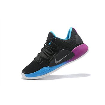 Nike Hyperdunk X Low EP 2018 Black Purple Blue Mens Basketball Shoes