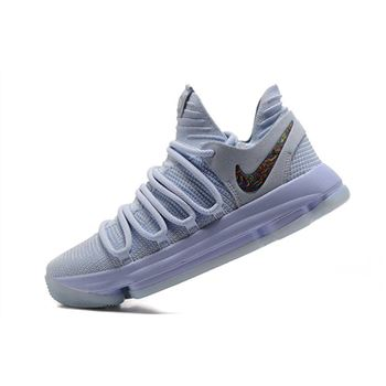 Nike KD 10 Anniversary Faint Blue Multi