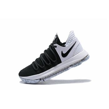 Nike KD 10 Black White Mens Basketball Shoes