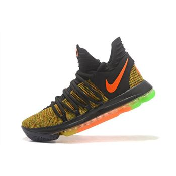 Nike KD 10 Peach Jam EYBL PE Mens Basketball Shoes