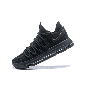 Nike KD 10 Triple Black Mens Basketball Shoes