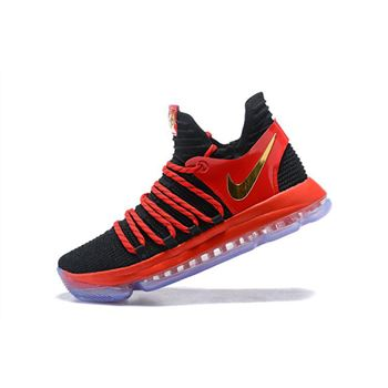 Nike KD 10 University Red Mens Basketball Shoes