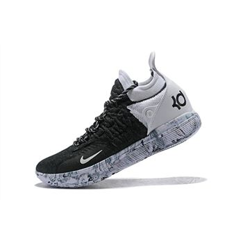Nike KD 11 BHM Black White White Marble Basketball Shoes