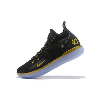Nike KD 11 Black Gold Mens Basketball Shoes