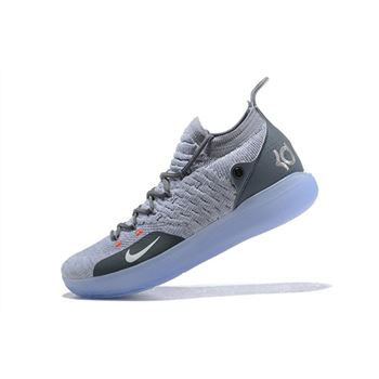 Nike KD 11 Cool Grey Wolf Grey Pure Platinum