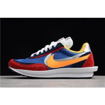Sacai x Nike Hybrid Collection Waffle Daybreak and LDV Fusion Multi Color Shoes