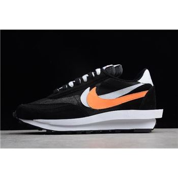 Sacai x Nike LDV Waffle Hybrid Black White Orange
