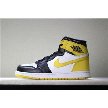 Air Jordan 1 Retro High OG Yellow Ochre Men's Basketball Shoes 555088-109
