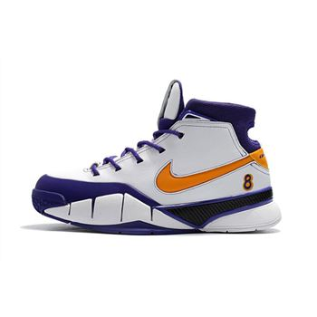 2018 Nike Kobe 1 Protro Final Seconds White Del Sol Varsity Purple