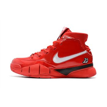Mens Nike Zoom Kobe 1 Protro Demar Derozan PE Red White Shoes