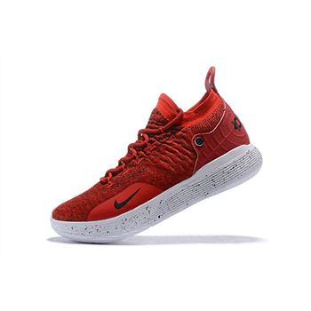 Nike KD 11 Gym Red White Black Mens Basketball Shoes