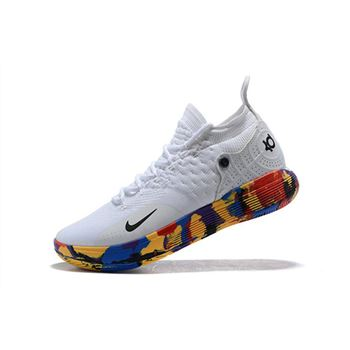 Nike KD 11 NCAA March Madness White Multi Color
