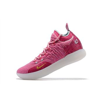 Nike KD 11 Pink White Mens Basketball Shoes