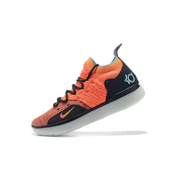Nike KD 11 The Academy Orange/Black-Teal For Sale