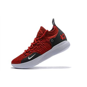 Latest Nike KD 11 University Red/Black-White Men's Basketball Shoes
