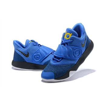 Nike KD Trey 5 VI Royal Blue Black Metallic Gold White