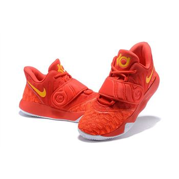 Nike KD Trey 5 VI University Red Orange Mens Basketball Shoes