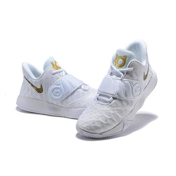 Nike KD Trey 5 VI White Gold Mens Basketball Shoes