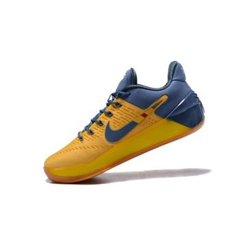 Nike Kobe A.D. Bruce Lee Yellow/Navy Blue Shoes For Sale