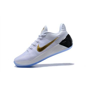 Nike Kobe A.D. White/Metallic Gold-Black For Sale