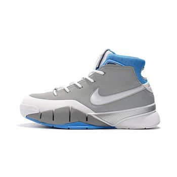 Nike Zoom Kobe 1 Protro MPLS Wolf Grey White University Blue